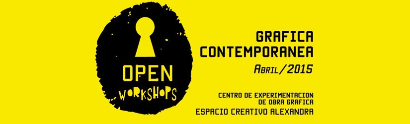OPEN WORKSHOPS – GRÁFICA CONTEMPORÁNEA